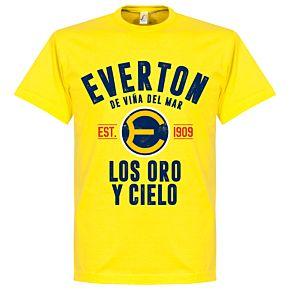 Everton de Chile Established Tee - Lemon yellow