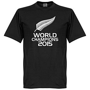 New Zealand Rugby World Champions Tee - Black