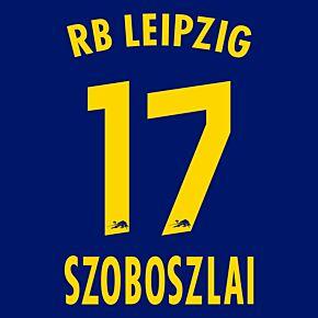 Szoboszlai 17 (Official Printing) - 20-21 RB Leipzig Away