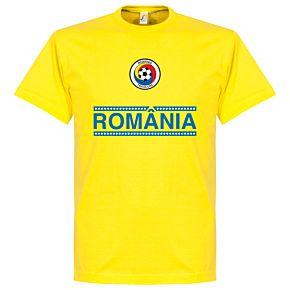 Romania Team Tee - Yellow
