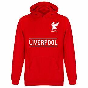 Liverpool Team KIDS Hoodie - Red