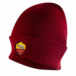 2021 AS Roma Beanie Hat - Red