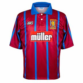 Asics Aston Villa 1993-1995 Home Shirt - USED Condition (Very Good) - Size L *READY TO PUBLISH*