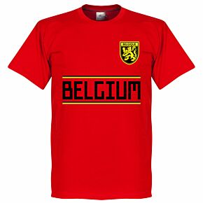 Belgium KIDS Team Tee - Red
