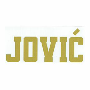 Jović Nameblock (Official) - 19-20 Real Madrid Home