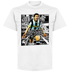 Del Piero Comic T-shirt - BlacBlack