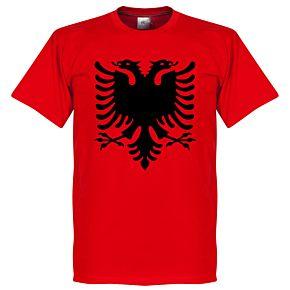 Albania Eagle Tee - Red