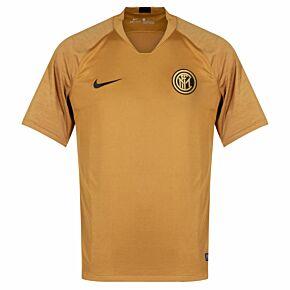 19-20 Inter Milan BreatheStrike S/S Top - Bronze
