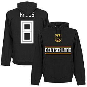 Germany Kroos 8 Team Hoodie - Black