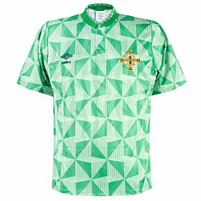 Umbro Northern Ireland 1990-1992 Home Shirt - USED Condition (Good) - Size M