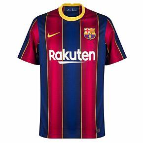 20-21 Barcelona Home Euro Shirt