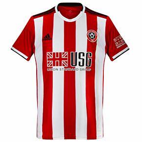 adidas Sheffield Utd Home Jersey 2019-2020