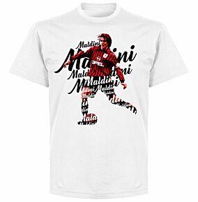 Maldini Script T-shirt - White