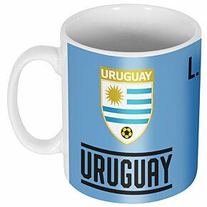 Uruguay Suarez 9 Team Mug