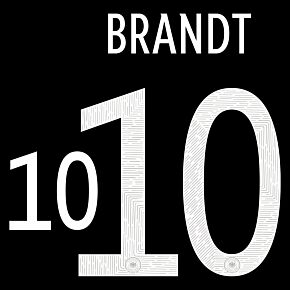 Brandt 10 (Official Printing) - 20-21 Germany Away