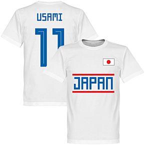 Japan Usami 11 Team Tee - White