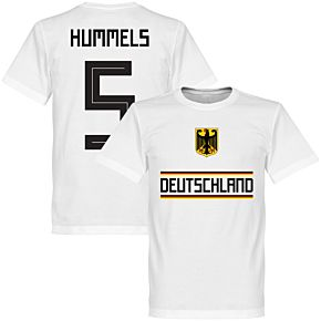 Germany Hummels 5 Team Tee - White