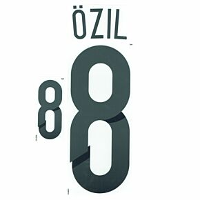 Ozil 8 World Cup 2014 Germany Home Official Name & No. Set