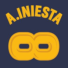 A. Iniesta Infinity Printing (Fan Style)