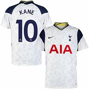 20-21 Tottenham Vapor Match Home Shirt + Kane 10 (Authentic EPL Printing)