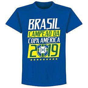 Brazil Campeao 2019 Tee - Royal