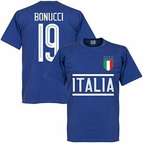 Italy Bonucci Team Tee - Royal