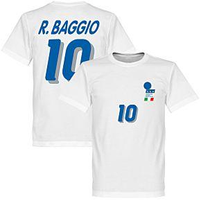 1994 Italy Baggio 10 Away KIDS Tee - White