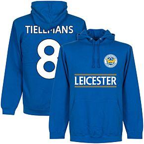 Leicester Tielemans 8 Team Hoodie - Royal
