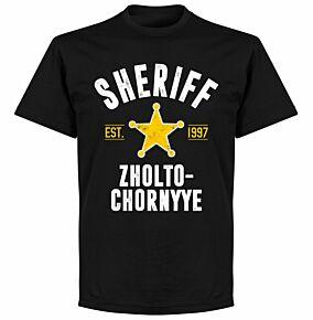 Sheriff Established KIDS T-shirt - Black