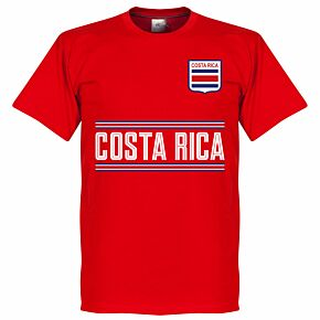 Costa Rica Team Tee - Red