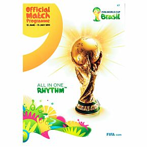2014 FIFA World Cup Brazil Official Match Program (June 12th - July 13th)