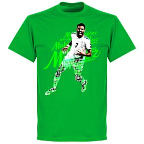 Mahrez Script T-Shirt - Green