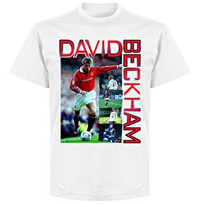Beckham Old Skool T-shirt - White