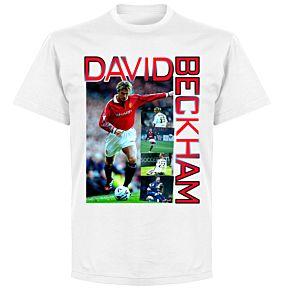 Beckham Old Skool T-shirt - White