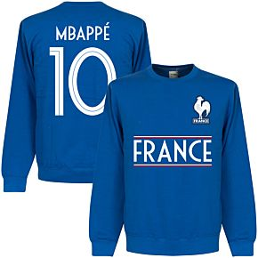 France Mbappe 10 Team  Sweatshirt - Royal