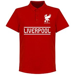 Liverpool Team Polo - Red