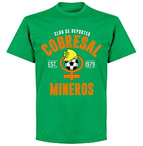 Cobresal EstablishedT-Shirt - Green
