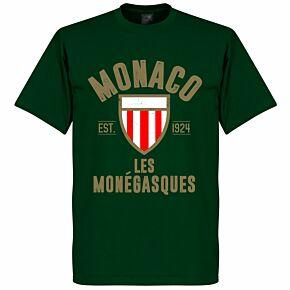 Monaco Established Tee - Bottle Green
