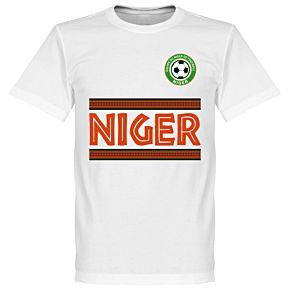 Niger Team Tee - White