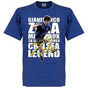 Gianfranco Zola Legend Tee - Royal