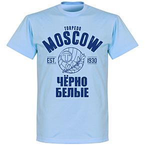 Torpedo Moscow Established T-shirt - Sky Blue