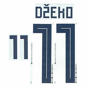 Dzeko 11 - Bosnia Away Official Name & Number 2018 / 2019