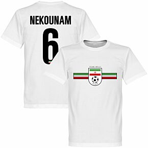 Iran Nekounam Team Tee - White