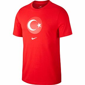 20-21 Turkey Crest T-shirt - Red