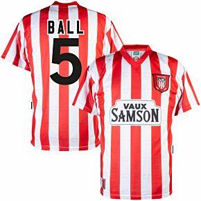 1997 Sunderland Home Retro Shirt + Ball 5 (Retro Flock Printing)