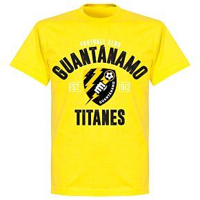 FC Guantanamo Established T-Shirt - Lemon Yellow