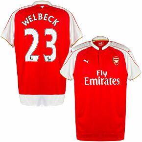 15-16 Arsenal Home Shirt + Welbeck 23 (Official NN)