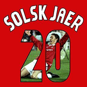 Solskjaer 20 (Gallery Style)