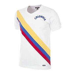 72-73 Colombia Home Retro Shirt