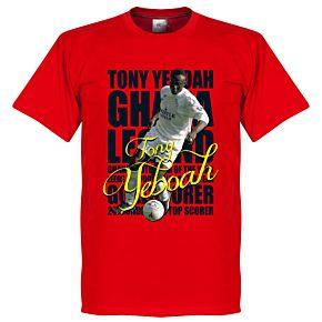 Tony Yeboah Legend Tee - Red